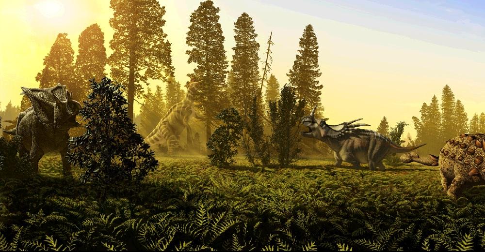 Jura Het Tijdperk Waarin De Dinosaurussen Over De Wereld